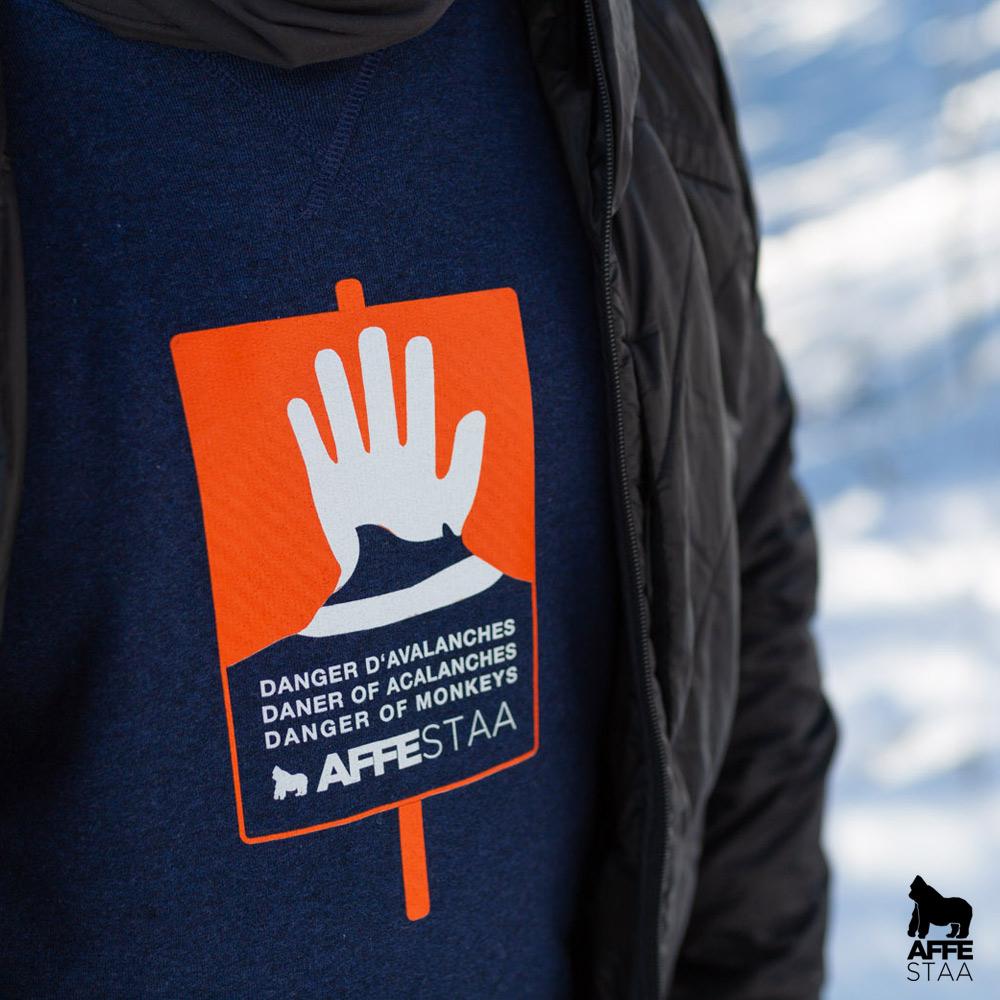 Affestaa Avalanche Lawine 2019 Lawinenschild