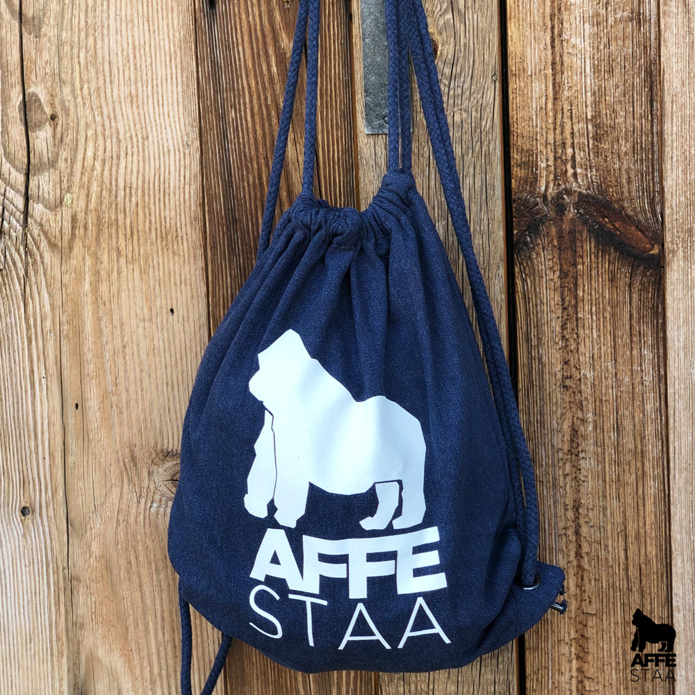 Affestaa Cotton Bag dark blue