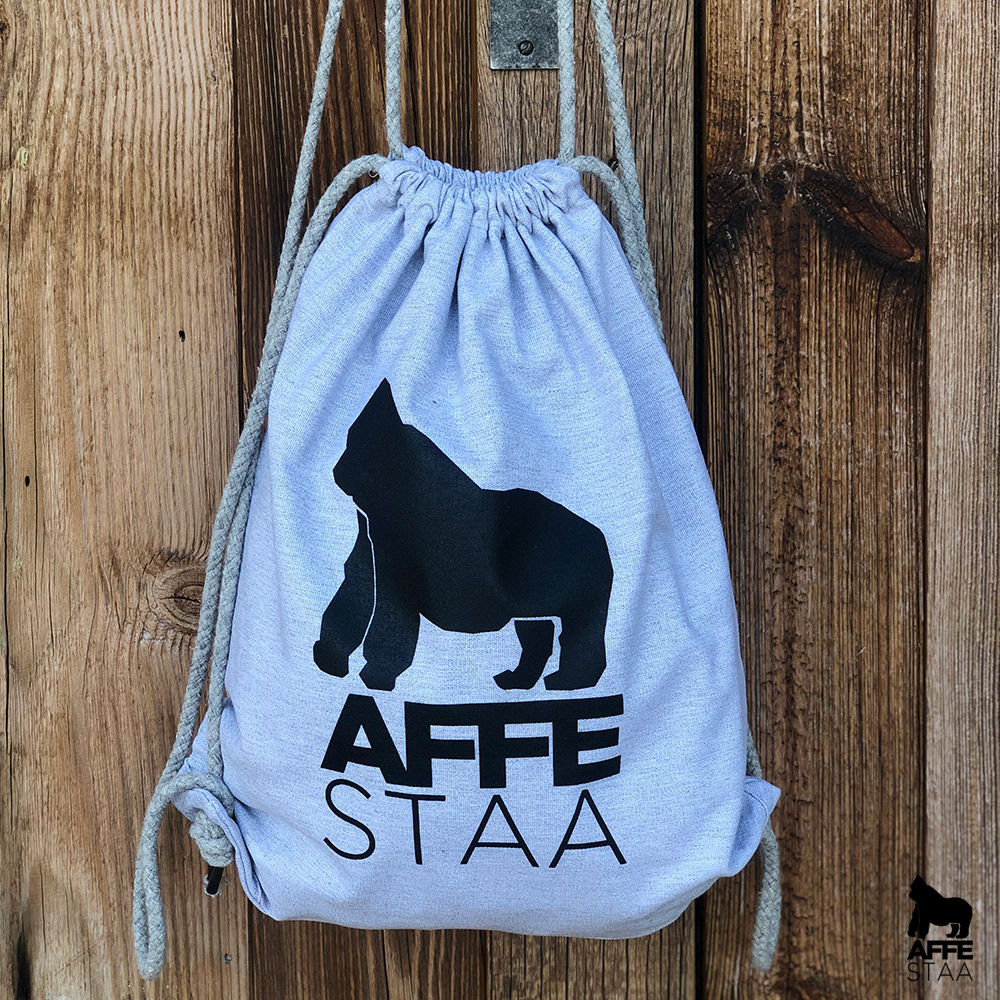 Affestaa Cotton Bag grey
